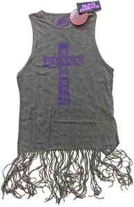 Black Sabbath – Vintage Cross Ladies Tassel Dress (Small) - Cover