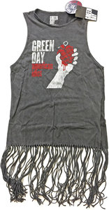 Green Day - American Idiot Vintage Ladies Tassel Dress (Small) - Cover