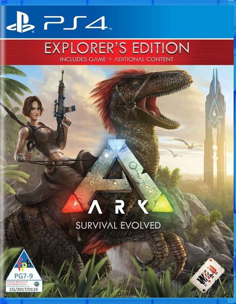 ARK: Survival Evolved (PS4)   Cover