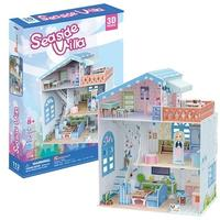 CubicFun - Seaside Villa 3D Puzzle (112 Pieces)