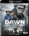 Dawn of the Planet of the Apes (Region A - 4K Ultra HD + Blu-Ray)