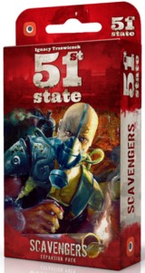 51st State: Scavengers - Cover