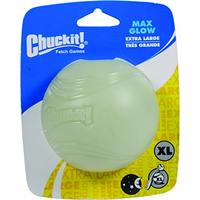 Chuckit Max Glow Toy Ball for Larger Dogs, X-Large (Misc.)