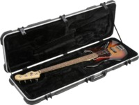 SKB Deluxe Electric Bass Guitar Case (Black) - Cover