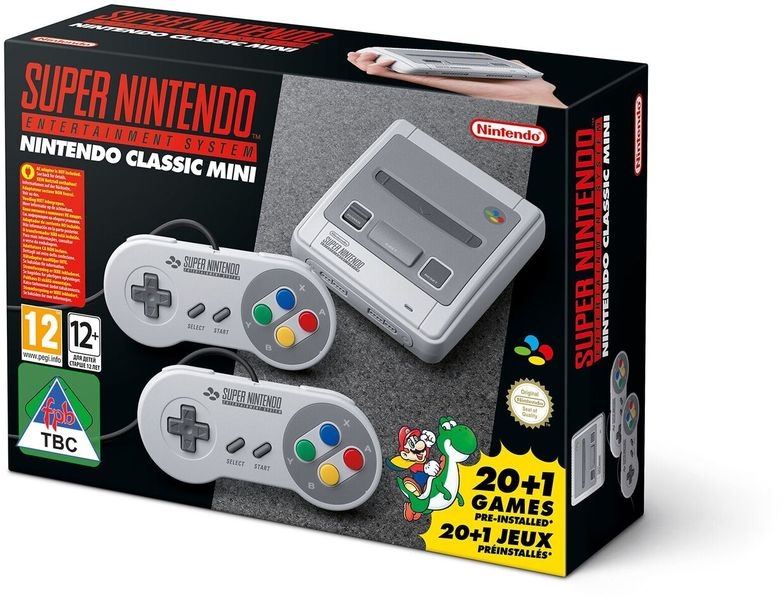 Nintendo Classic Mini: Super Nintendo Entertainment System includes Two Controllers (SNES)