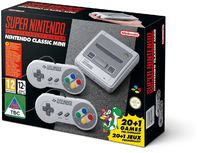 Nintendo Classic Mini: Super Nintendo Entertainment System includes Two Controllers (SNES) - Cover