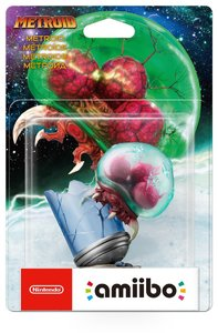 Nintendo amiibo - Metroid - Metroid (For 3DS/Wii U/Switch) - Cover