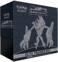 Pokémon Sun & Moon: Burning Shadows Trading Card Game Elite Trainer Box - Cover