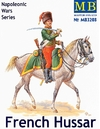 Masterbox - 1/32 - French Hussar, Napoleonic Wars Series (Plastic Model Kit)