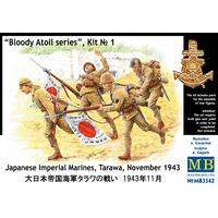 Masterbox - 1/35 - Bloody Atoll Series. Kit No 1. Japanese Imperial Marines, Tarawa, November 1943 (Plastic Model Kit)