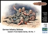 Masterbox - 1/35 - German Infantry, Eastern Front Battle Series Kit No.1 (Plastic Model Kit)