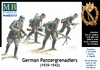 Masterbox - 1/35 - German Panzergrenadiers (1939-1942) (Plastic Model Kit)