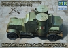 Masterbox - 1/72 - British Armoured Car, Austin, MK IV, WWI Era (Plastic Model Kit)