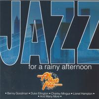 Various Artists - Jazz For a Rainy Afternoon (CD) - Cover