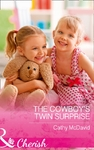 Cowboy's Twin Surprise - Cathy Mcdavid (Paperback)