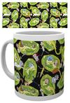 Rick and Morty - Portals Mug Cover