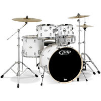 PDP Mainstage 5pc Acoustic Drum Kit - White (10 12 16 22 14 Inch)