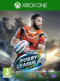 Rugby League Live 4 (Xbox One) - Cover