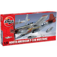 Airfix - 1/72 - North American P-51D Mustang (Plastic Model Kit)