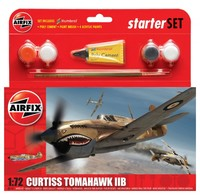 Airfix - 1/72 - Curtiss Tomahawk IIB Starter Set (Plastic Model Kit) - Cover