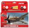 Airfix - 1/72 - Curtiss Tomahawk IIB Starter Set (Plastic Model Kit)