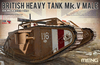 Meng Model - 1/35 - British Heavy Tank Mk V Male (Plastic Model Kit)