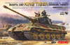 Meng Model - 1/35 - King Tiger Sd.Kfz.182 (Henschel Turret) (Plastic Model Kit)