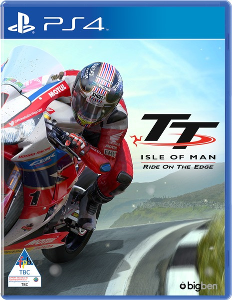 Isle of Man. Ride on the edge cover