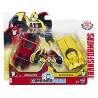 Transformers Robots In Disguise Quick Combiners Bumblebee and Sideswipe
