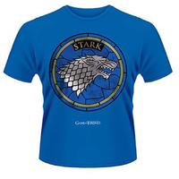Game Of Thrones - House Stark Mens T-Shirt (Large)