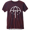 Bring Me The Horizon - Umbrella Mens Navy Red T-Shirt (Medium)