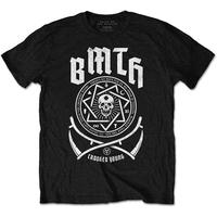 Bring Me The Horizon - Crooked Mens Black T-Shirt (Medium)