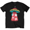 Bring Me The Horizon - Alien Mens Black T-Shirt (Medium)