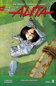 Battle Angel Alita - Yukito Kishiro (Hardcover) - Cover