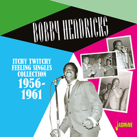 Bobby Hendricks - Itchy Twitchy Feeling: Singles Collection 1956-61 (CD) - Cover