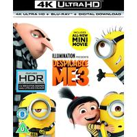 Despicable Me 3 (4K Ultra HD + Blu-ray)