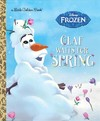 Olaf Waits for Spring - Victoria Saxon (Hardcover)