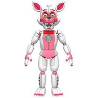 """Funko Five Nights At Freddy's Fun Time Foxy Articulated Action Figure, 5"""" (Toy)"""