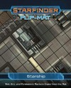Starfinder Flip Mat: Starship (Role Playing Game)