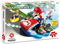 Winning Moves - Mario Kart Funracer Puzzle (1000 Pieces) - Cover