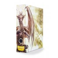 Dragon Shield - Slipcase Binder - White Art Dragon