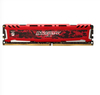 Crucial - Ballistix Sport LT 16GB DDR4-2666 Desktop Gaming Memory (Red)