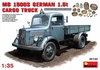 MiniArt - 1/35 - L1500S German 1.5t 4x2 Cargo Truck (Plastic Model Kit)