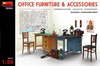 MiniArt - 1/35 - Office Furniture and Accessories (Plastic Model Kit)