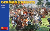 Miniart - 1/72 - German Knights XVc (Plastic Model Kit) - Cover