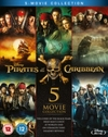 Pirates of the Caribbean: 5-movie Collection (Blu-ray)