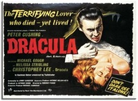 Dracula Original Film Poster Fridge Magnet (1958) - Cover