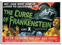 Frankenstein Original Film Poster Fridge Magnet (1956) - Cover