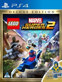 LEGO Marvel Super Heroes 2 (PS4) - Cover