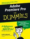 Adobe Premiere Pro For Dummies - Keith Underdahl (Paperback)